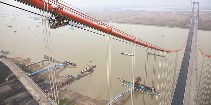 杭瑞高速洞庭湖大桥预计2018年春节前建成通车