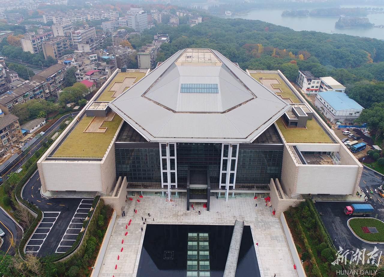 先睹为快 湖南省博物馆新馆明日正式对外开放