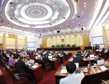 省十二届人大常委会第33次会议闭幕