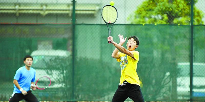 湖南省第一届大学生网球邀请赛举行