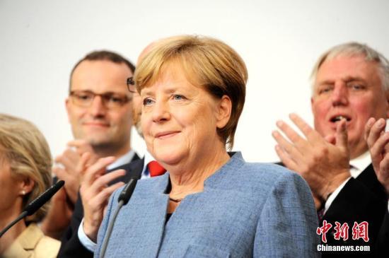 资料图:德国总理默克尔