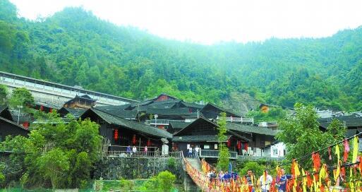 [湖南乡村振兴探索]古丈县牛角山村:海拔800多米示范