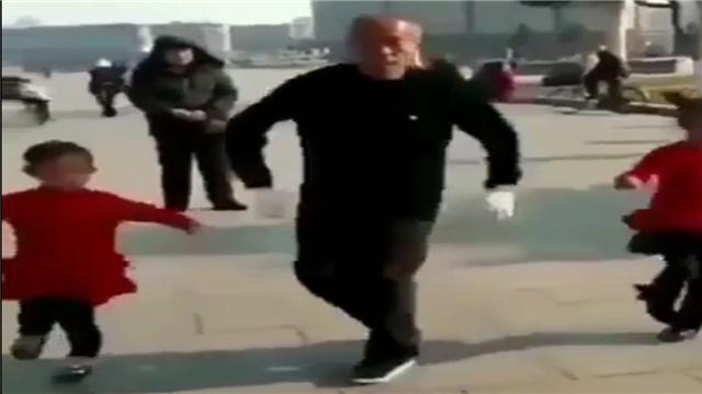 配了rap后的广场舞