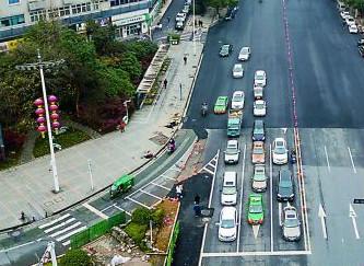黄河北路、长江北路改造工程月底完工