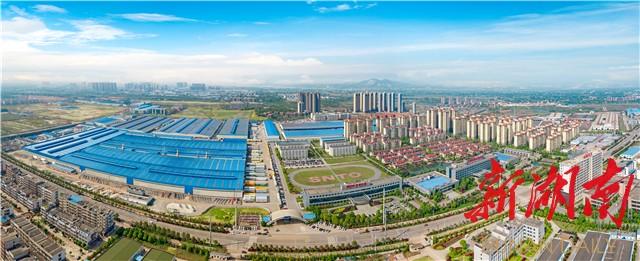 [长沙] 望城园区规模工业产值迈上千亿台阶 新湖南www.hunanabc.com
