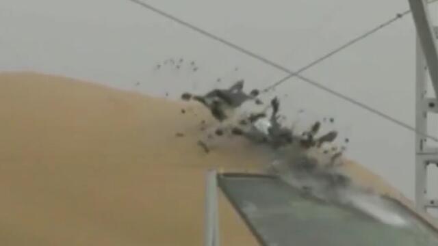 我国开展世界首例无人机与客机碰撞试验