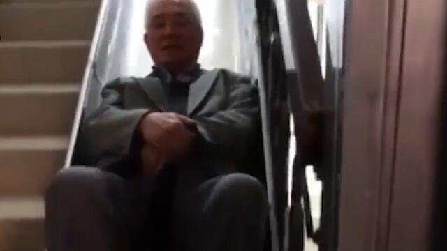 中国大爷造逃命滑梯获国际专利PCT确认