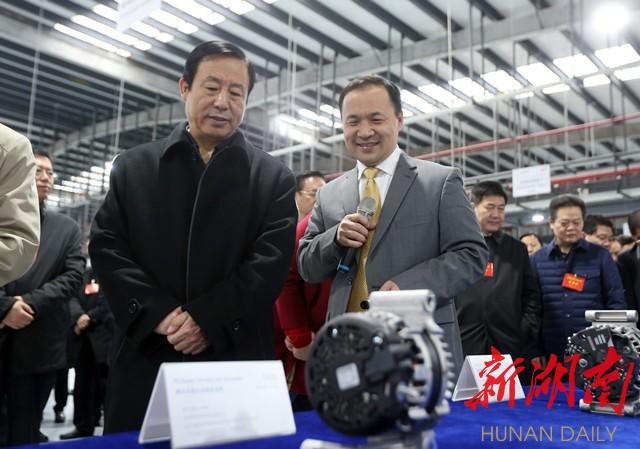 杜家毫许达哲李微微乌兰分别带队参观考察长沙产业项目 新湖南www.hunanabc.com