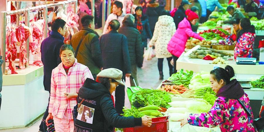 """[应对低温雨雪]长沙市""""菜篮子""""供应充足"""