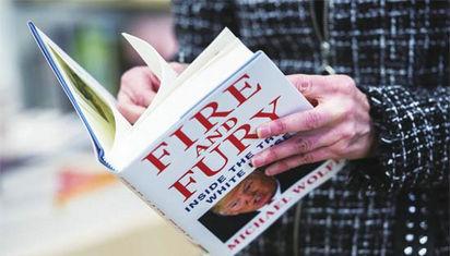 """""""白宫内幕""""引来特朗普的""""火与怒"""""""