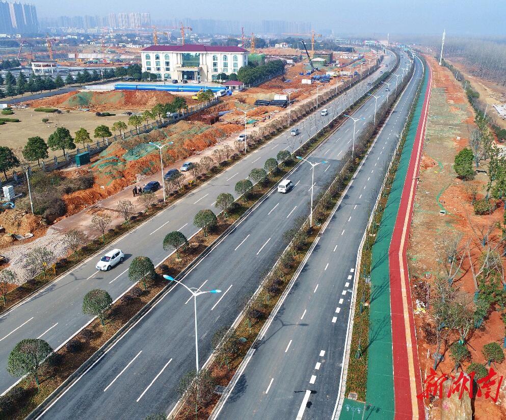 长沙潇湘北路北延通车 新湖南www.hunanabc.com