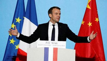 马克龙结束访华 法国人这样打分