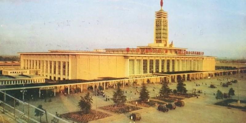 老照片:百年火车站,百年长沙城