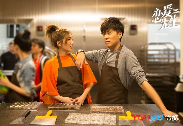 靳东新剧《恋爱先生》今晚开播 齐刘海造型秒变鲜肉与江疏影谈恋爱