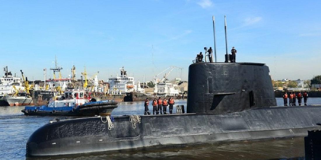 """前不久失踪的阿根廷潜艇:可能在0.04秒内被""""压爆"""""""