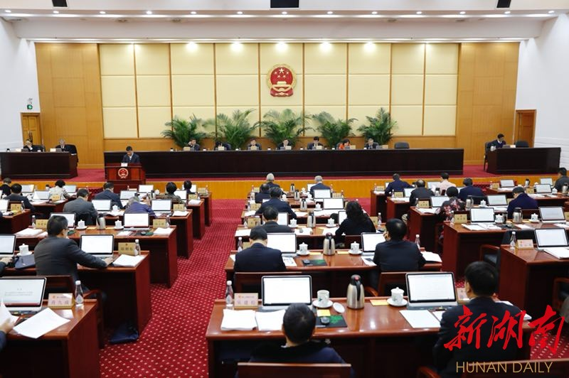 省十二届人大常委会举行第三十五次会议 杜家毫主持