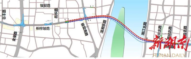 [长沙] 重磅:2018年长沙将建湘雅路过江隧道