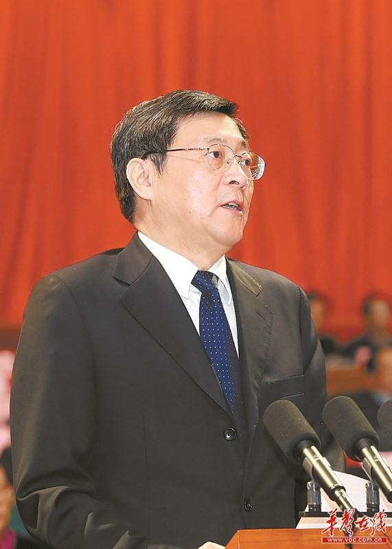 湖南省政协十二届一次会议开幕 杜家毫发表讲话