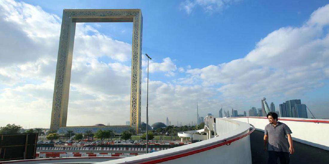"""真的""""金拱门""""!迪拜斥资3亿元打造新地标"""