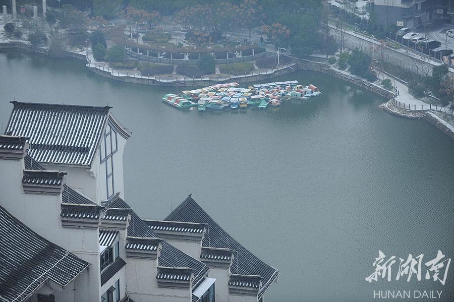 1月26日上午,方阳摄于湘潭市雨湖区窑湾历史文化街区.