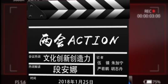 【两会Action】段安娜:以产业发展带动文化创新创造力增强