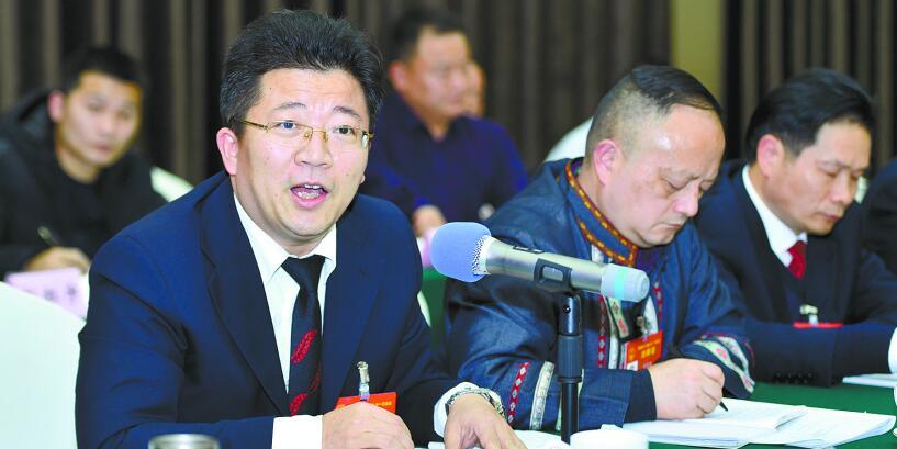 湖南省人大代表分组讨论