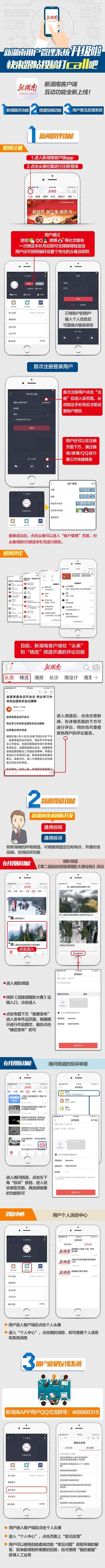 新湖南用户管理系统升级啦 快来跟帖投稿打call吧 新湖南www.hunanabc.com
