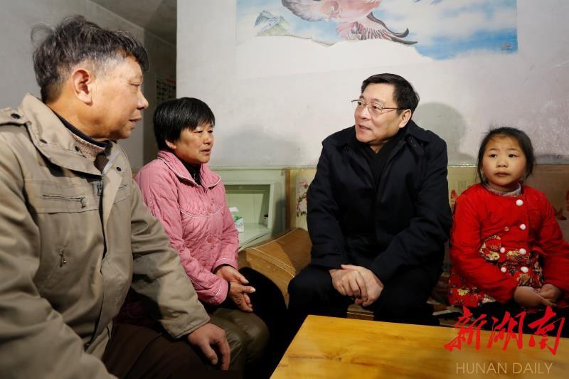 杜家毫赴耒阳看望慰问困难群众调研产业发展 新湖南www.hunanabc.com