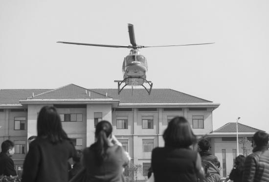 湖南:春运期间高速公路免费推出直升机应急救援服务