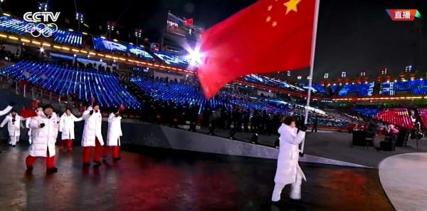 中国军团亮相开幕式!这条冰雪路,我们走了38年