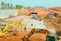 湘潭高新区向家坝泵站项目建设现场见闻