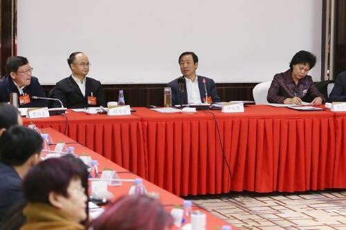 许达哲参加湘潭代表团审议:办好湘潭大学 推进军民融合