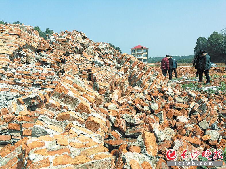 宁乡市菁华铺乡洪仑山村砖厂,曾经的厂区早已成为一片平整的空地。