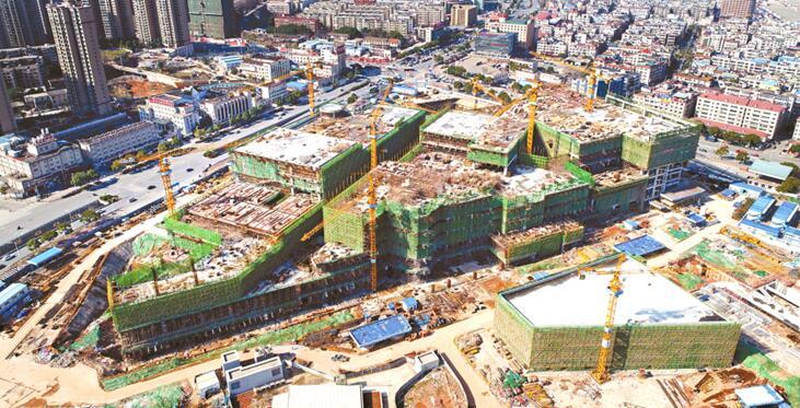 """长沙""""新南站""""建设如火如荼"""
