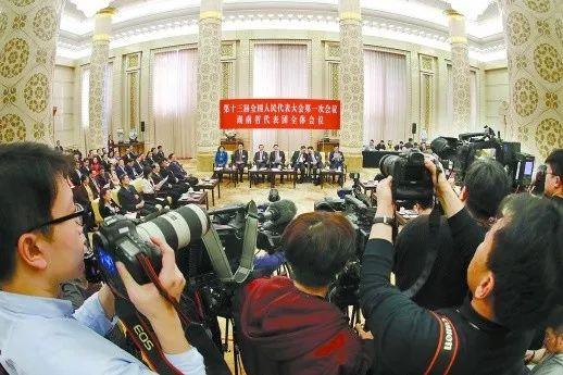 央媒笔下镜头中的湖南代表团媒体开放日是这样的