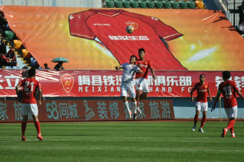 2018中甲联赛在足球之乡梅州举行 深圳铁汉