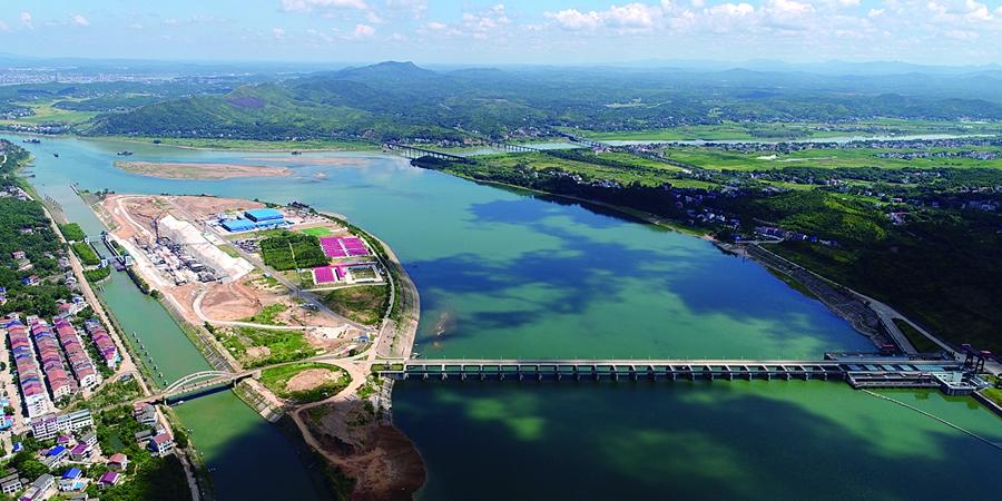 衡阳大源渡二线船闸及鱼道工程预计今年建成使用