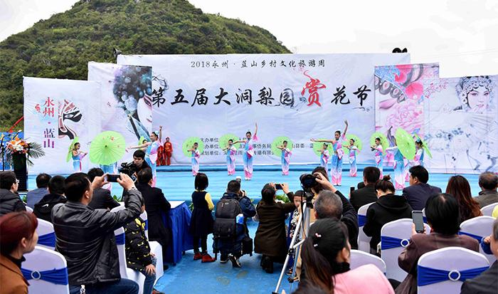2018永州蓝山乡村文化旅游周暨大洞梨园赏花季开幕