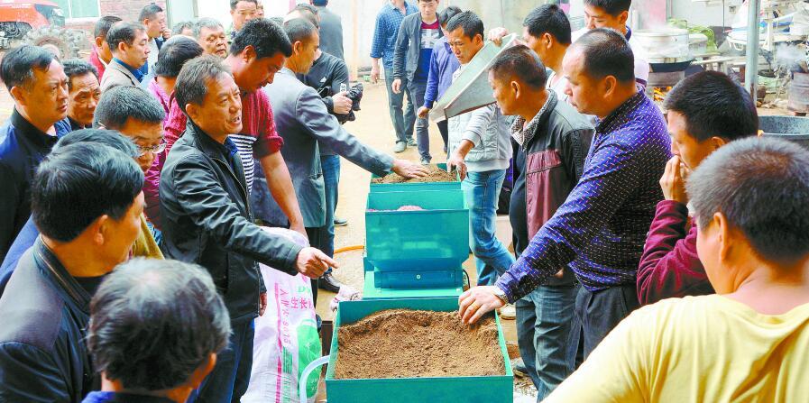永州宁远县110余户种粮大户抱团种好粮