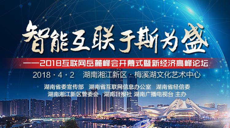 视频|2018互联网岳麓峰会新经济高峰论坛