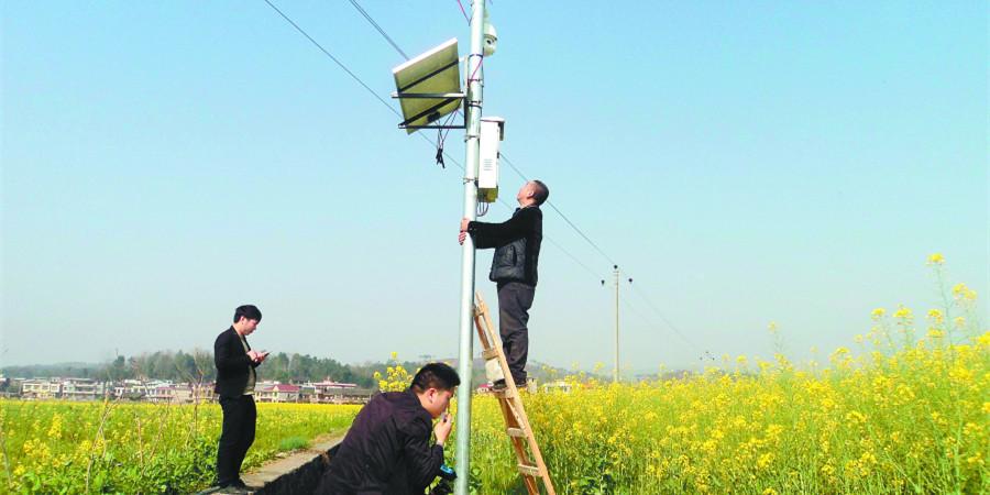 邵阳县全面推广可视化农业监控系统