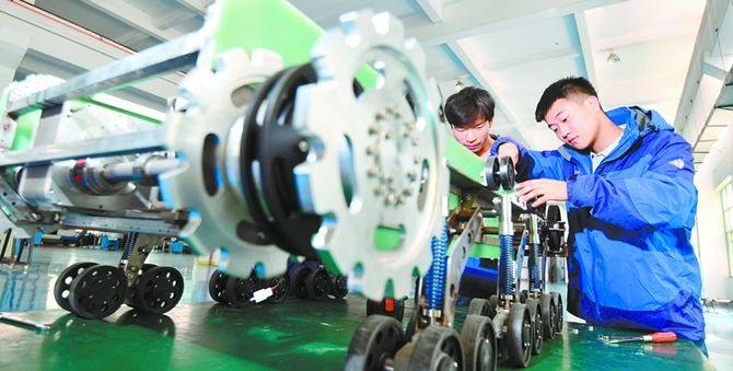 湘潭打造机器人产业链