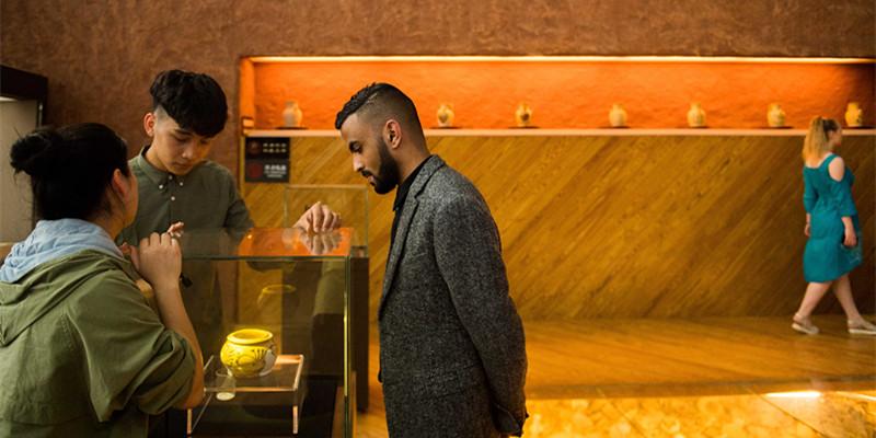 留学生探访铜官窑