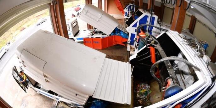 长沙城区最大规模垃圾站投入使用