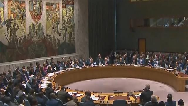 美英法轰炸叙利亚遭国际社会反对