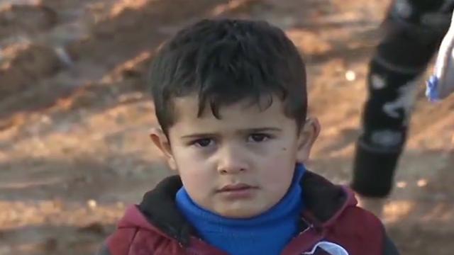 战火下的叙利亚儿童