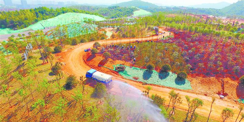 湘江新区智能系统测试区一期基本建成