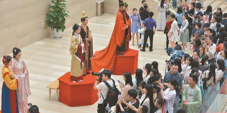 """""""环肥燕瘦――汉唐长安丽人行""""长博开展"""
