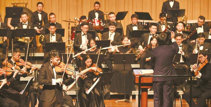"""""""样范中南・春之声""""交响音乐会在长沙音乐厅上演"""
