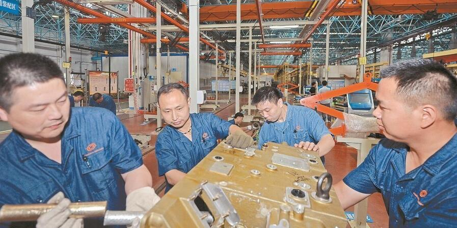 江麓机电生产忙